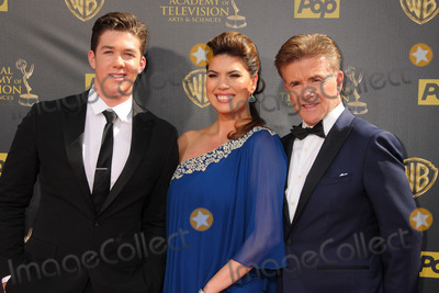 Alan Thicke, Robin Thicke, Tanya Callau Photo - 13 December 2016 - Burbank, California - Alan Thicke, beloved TV dad and real-life father of R&B and pop superstar Robin Thicke, died Tuesday at age 69, of a heart attack while playing hockey with his 19 year-old son Carter Thicke. File Photo: 26 April 2015 - Burbank, California - Carter Thicke, Tanya Callau, Alan Thicke. The 42nd Annual Daytime Emmy Awards - Arrivals held at Warner Bros. Studios. Photo Credit: Byron Purvis/AdMedia