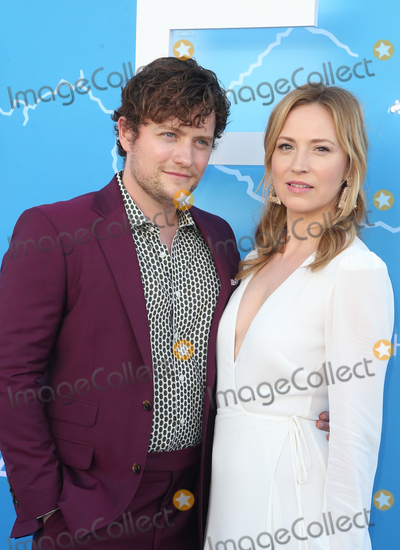 """Beth Riesgraf, Jon Fletcher Photo - 17 June 2019 - Los Angeles, California - Jon Fletcher, Beth Riesgraf. LA Premiere Of Starz's """"The Rook""""  held at The Getty Museum. Photo Credit: Faye Sadou/AdMedia"""