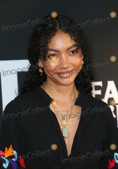 "Asia Jackson Photo - 19 August 2019 - Culver City, California - Asia Jackson. LA Screening Of Fox Searchlight's ""Ready Or Not""  held at ArcLight Cinemas. Photo Credit: FSadou/AdMedia"