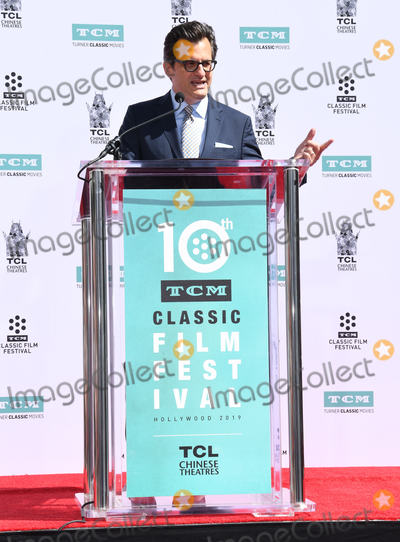 Ben Mankiewicz, Billy Crystal, TCL Chinese Theatre Photo - 12 April 2019 - Hollywood, California - Ben Mankiewicz. TCM Honors Billy Crystal With A Hand and Footprint Ceremony held at the TCL Chinese Theatre. Photo Credit: Birdie Thompson/AdMedia