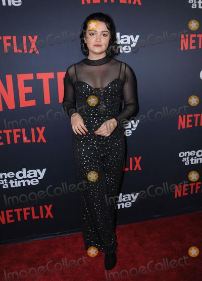 "Ariela Barer Photo - 24 January 2018 - Hollywood, California - Ariela Barer. Netflix's ""One Day At A Time"" Season 2 Premiere Screening held at Arclight Hollywood. Photo Credit: Birdie Thompson/AdMedia"