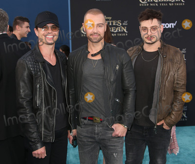 """Andrew Lawrence, Joey Lawrence, Matthew Lawrence Photo - 18 May 2017 - Hollywood, California - Andrew Lawrence, Joey Lawrence, Matthew Lawrence. Disney's """"Pirates Of The Caribbean: Dead Men Tell No Tales"""" Los Angeles Premiere held at the Dolby Theatre. Photo Credit: AdMedia"""