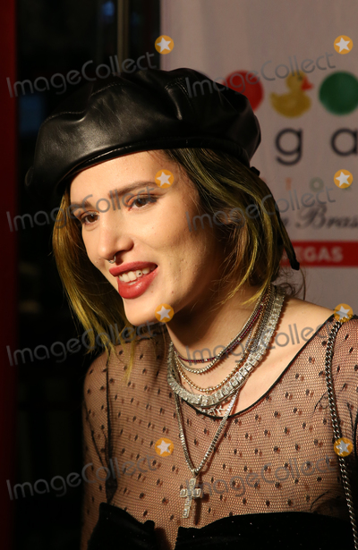 Bella Thorne Photo - 08 October 2018 - Las Vegas, NV - Bella Thorne.  Bella Thorne celebrates her 21st birthday at Sugar Factory American Brasserie inside Fashion Show. Photo Credit: MJT/AdMedia