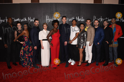 "Jackée, King Sunny Adé, Liza Weil, Viola Davis, Charlie Weber, Jack Falahee, Alfred Enoch, Billy Brown, Conrad Ricamora, Amirah Vann, Pete Nowalk Photo - 08 February 2020 - Hollywood, California - (L-R) Billy Brown, Aja Naomi King, Charlie Weber, Liza Weil, Viola Davis, Pete Nowalk, Alfred Enoch, Amirah Vann, Conrad Ricamora,  Matt McGorry, Jack Falahee and Alfred Enoch. ""How to Get Away with Murder"" Series Finale at Yamashiro. Photo Credit: Billy Bennight/AdMedia"
