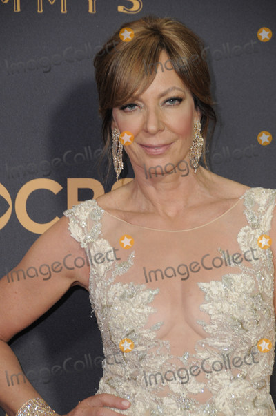 Allison Janey Photo - 17 September  2017 - Los Angeles, California - Allison Janey. 69th Annual Primetime Emmy Awards - Arrivals held at Microsoft Theater in Los Angeles. Photo Credit: Birdie Thompson/AdMedia