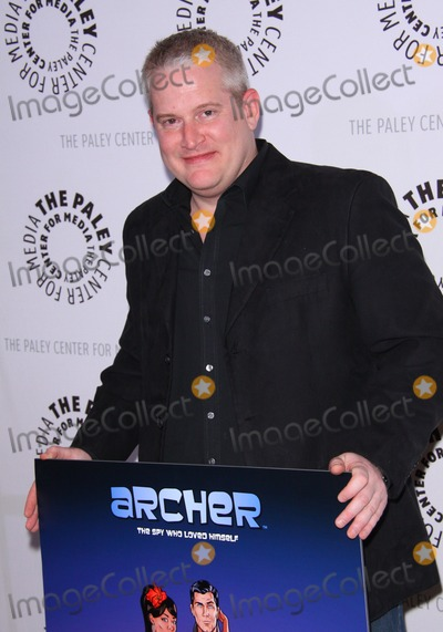 """Adam Reed Photo - 25  January  2011- Beverly Hills, California - Adam Reed.  The Premiere Of FX's """"Archer"""" Season Two Premiere  held at The Paley Center for Media. Photo: TConrad/AdMedia Photo: TConrad/AdMediaphoto"""
