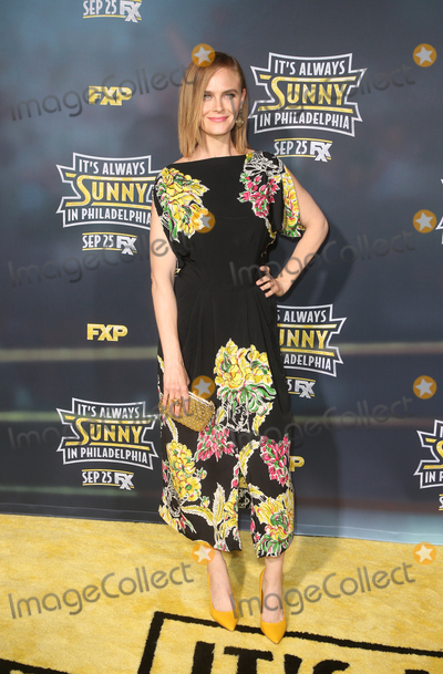"Emily Deschanel, TCL Chinese Theatre Photo - 24 September 2019 - Hollywood, California - Emily Deschanel. The Premiere Of FX's ""It's Always Sunny In Philadelphia"" Season 14  held at TCL Chinese Theatre. Photo Credit: FSadou/AdMedia"