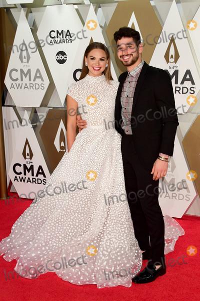 CMA Award, Alan Bersten, Hannah Brown Photo - 13 November 2019 - Nashville, Tennessee - Alan Bersten, Hannah Brown. 53rd Annual CMA Awards, Country Music's Biggest Night, held at Music City Center. Photo Credit: Laura Farr/AdMedia