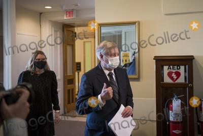 Lindsey Graham, Senator Lindsey Graham Photo - United States Senator Lindsey Graham (Republican of South Carolina) arrives for a press conference at the U.S. Capitol in Washington, DC, Thursday, January 7, 2021.Credit: Rod Lamkey / CNP/AdMedia