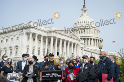John Stewart, The Used Photo - Comedian John Stewart, offers remarks during a press conference regarding legislation to assist veterans exposed to burn pits, outside the US Capitol in Washington, DC., Tuesday, September 15, 2020. Credit: Rod Lamkey / CNP/AdMedia