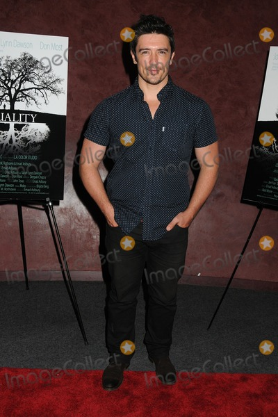 "Adam Croasdell Photo - 3 September 2014 - Los Angeles, California - Adam Croasdell. ""Duality"" Short Film Premiere held at The Landmark Theater. Photo Credit: Byron Purvis/AdMedia"