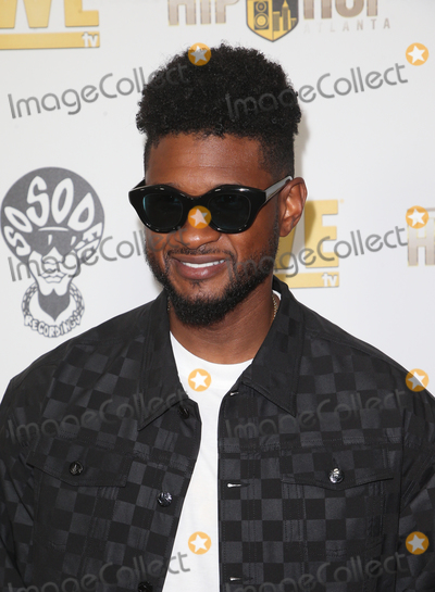 """Usher Photo - 16 July 2019 - West Hollywood, California - Usher. WE tv Celebrates """"Power, Influence & Hip Hop: The Remarkable Rise Of So So Def"""" And Season 3 Of """"Growing Up Hip Hop Atlanta"""" held at The London West Hollywood. Photo Credit: Faye Sadou/AdMedia"""