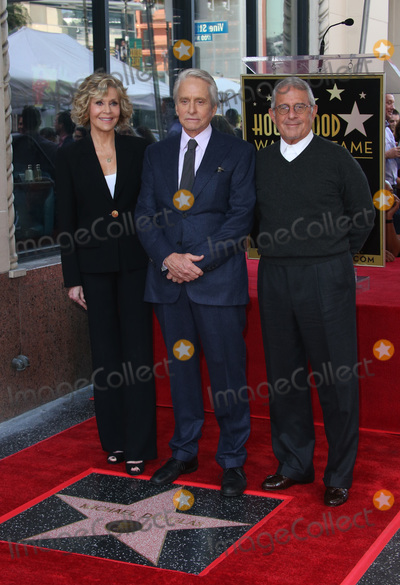 Jane Fonda, Michael Douglas, Ron Meyer, Vines, Michael Bublé, Michael Paré Photo - 6 November 2018-  Hollywood, California - Jane Fonda, Michael Douglas, Ron Meyer, Hollywood Walk of Fame Ceremony Honoring Michael Douglas, held at Hollywood & Vine. Photo Credit: Faye Sadou/AdMedia