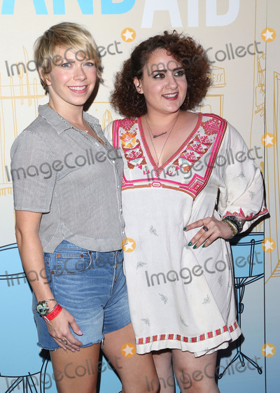 "Artemis Pebdani, Teairra Marí Photo - 30 May 2017 - Los Angeles, California - Mary Elizabeth Ellis, Artemis Pebdani. Premiere Of IFC Films' ""Band Aid"" held at The Theatre at Ace Hotel. Photo Credit: F. Sadou/AdMedia"