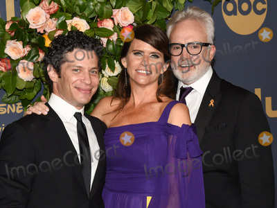 Amy Landecker, Bradley Whitford, Walt Disney Photo - 22 September 2019 - Los Angeles, California - Bradley Whitford, Amy Landecker. Walt Disney Television 2019 EMMY Award Post Party for ABC, Disney Television Studios, FX Networks, HULU, and National Geographic held at Otium. Photo Credit: Billy Bennight/AdMedia