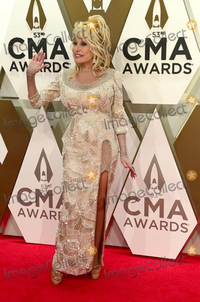 Dolly Parton, CMA Award Photo - 13 November 2019 - Nashville, Tennessee - Dolly Parton. 53rd Annual CMA Awards, Country Music's Biggest Night, held at Music City Center. Photo Credit: Laura Farr/AdMedia