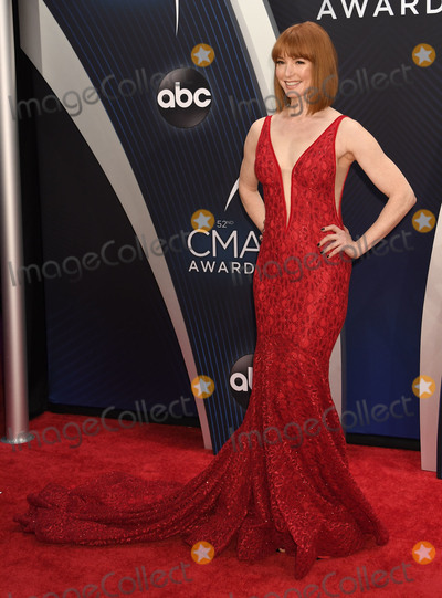 Alicia Witt, CMA Award Photo - 14 November 2018 - Nashville, Tennessee - Alicia Witt. 52nd Annual CMA Awards, Country Music's Biggest Night, held at Bridgestone Arena. Photo Credit: Laura Farr/AdMedia