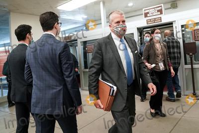 Trump Impeachment, Alaska !, alaska!, Donald Trump Photo - Sen. Dan Sullivan (R-Alaska) arrives at the Capitol on Wednesday, February 10, 2021 for the second day of the impeachment trial of former President Donald Trump.Credit: Greg Nash - Pool via CNP/AdMedia