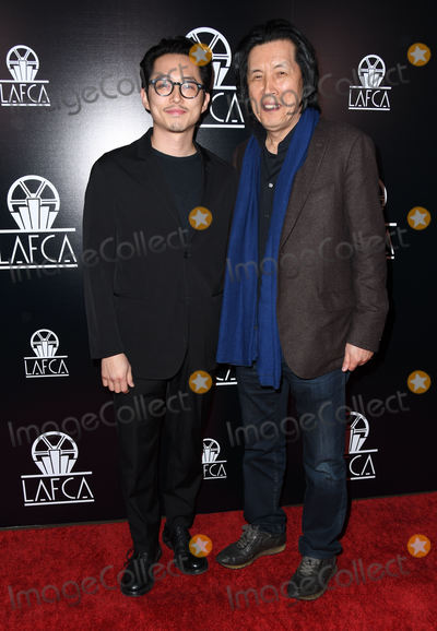 Photo - 12 January 2019 - Century City, California - Steven Yeun, Lee Chang-Dong. The 44th Annual Los Angeles Film Critics Association Awards held at InterContinental Los Angeles, Century City. Photo Credit: Birdie Thompson/AdMedia