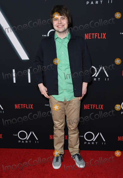 "Brendan Meyer Photo - 18 March 2019 - Los Angeles, California - Brendan Meyer. Netflix's ""The OA Part II"" Los Angeles Premiere held at LACMA. Photo Credit: Birdie Thompson/AdMedia"
