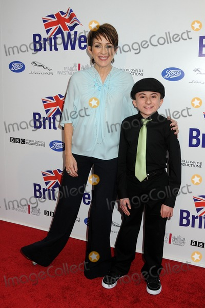 Patricia Heaton, Atticus Shaffer Photo - 24 April 2012 - Los Angeles, California - Patricia Heaton, Atticus Shaffer. BritWeek 2012 Official Launch held at a Private Residence. Photo Credit: Byron Purvis/AdMedia