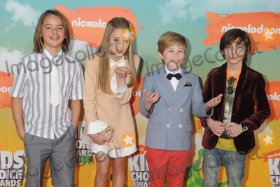 Casey Simpson, Gallagher, Mace Coronel, Lizzy Greene, Aidan Gallagher, Lizzie Greene Photo - 12 March 2016 - Inglewood, California - Mace Coronel, Lizzy Greene, Casey Simpson, Aidan Gallagher. 2016 Nickelodeon Kids' Choice Awards held at The Forum. Photo Credit: Byron Purvis/AdMedia