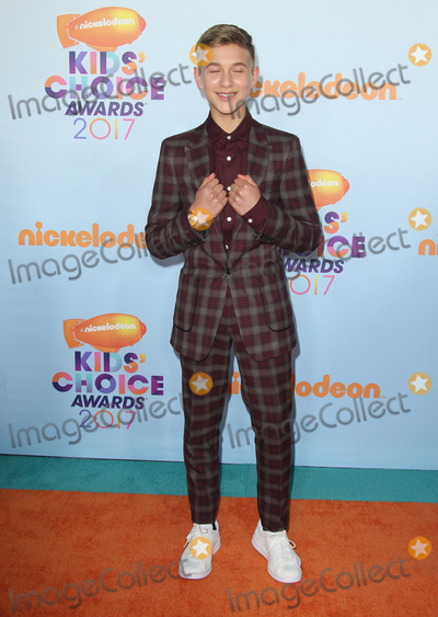 Thomas Kuc Photo - 11 March 2017 -  Los Angeles, California - Thomas Kuc. Nickelodeon's Kids' Choice Awards 2017 held at USC Galen Center. Photo Credit: Faye Sadou/AdMedia
