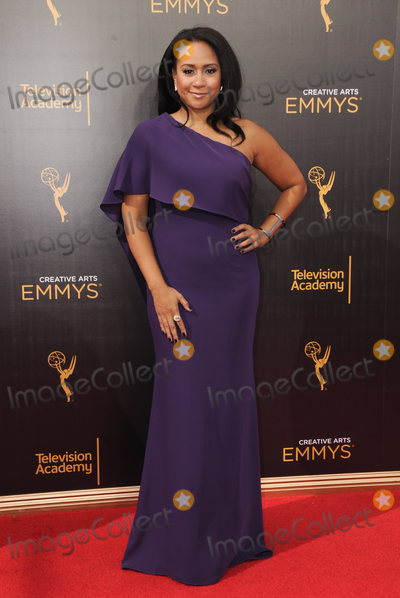 Traci Thoms, Tracie Thoms Photo - 11 September 2016 - Los Angeles, California. Traci Thoms. 2016 Creative Arts Emmy Awards - Day 2 held at Microsoft Theater. Photo Credit: Birdie Thompson/AdMedia