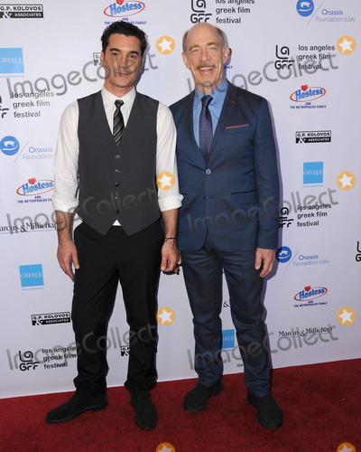 """J K Simmons, J. K. Simmons, J.K. Simmons, JK Simmons, J.K Simmons, Christophe Honoré Photo - 05 June 2016 - Hollywood, California - Christopher Pakaliatis, J.K. Simmons. Arrivals for the 2016 LA Greek Film Festival Premiere Of """"Worlds Apart"""" held at The Egyptian Theater. Photo Credit: Birdie Thompson/AdMedia"""