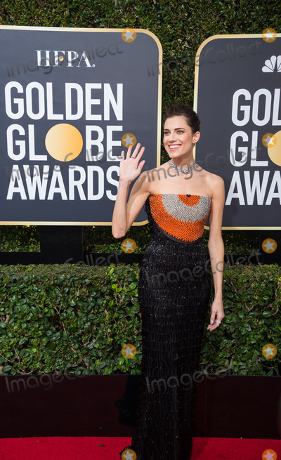 Allison Williams Photo - 07 January 2018 - Beverly Hills, California - Allison Williams. 75th Annual Golden Globe Awards held at the Beverly Hilton. Photo Credit: HFPA/AdMedia