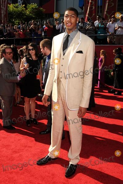 Anthony Davis Photo - 11 July 2012 - Los Angeles, California - Anthony Davis. 2012 ESPY Awards - Arrivals held at Nokia Theatre L.A. Live. Photo Credit: Byron Purvis/AdMedia