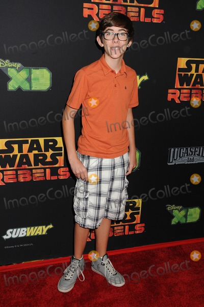 """Augie Isaac Photo - 27 September 2014 - Century City, California - Augie Isaac. """"Star Wars Rebels: Spark of Rebellion"""" Los Angeles Special Screening held at the AMC Century City 15. Photo Credit: Byron Purvis/AdMedia"""