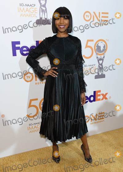 Gabrielle Dennis Photo - 09 March 2019 - Hollywood, California - Gabrielle Dennis. 50th NAACP Image Awards Nominees Luncheon held at the Loews Hollywood Hotel. Photo Credit: Birdie Thompson/AdMedia