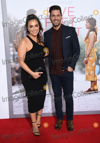 "Andy Grammer Photo - 07 March 2019 - Westwood, California - Aijai Grammer, Andy Grammer. ""Five Feet Apart"" Los Angeles Premiere held at the Fox Bruin Theatre. Photo Credit: Birdie Thompson/AdMedia"