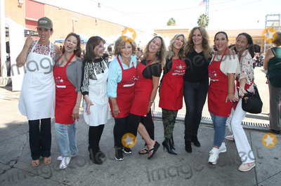 Amy Aquino, Angelica Vale, Ann-Marie Johnson, Anne Marie, Anne-Marie Johnson, Catherine Bach, Kate Linder, Leron Gubler, Ellen K., Ellen K, Erin Murphy, Ann Marie, Teairra Marí Photo - 06 September 2018-  Hollywood, California - Leron Gubler, Kate Linder, Amy Aquino, Anglica Mara, Erin Murphy, Ellen K, Angelica Vale, Catherine Bach, Anne-Marie Johnson, Captain Cory Palka. At Hollywood Chamber Of Commerce's 24th Annual Police and Firefighter appreciation Day held at LAPD Hollywood Division. Photo Credit: Faye Sadou/AdMedia