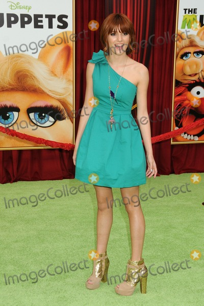 "Bella Thorne, The Muppets Photo - 12 November 2011 - Hollywood, California - Bella Thorne. ""The Muppets"" Los Angeles Premiere held at the El Capitan Theatre. Photo Credit: Byron Purvis/AdMedia"
