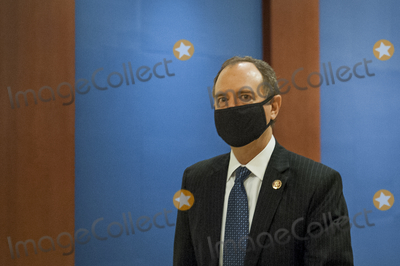 The Used, Adam Schiff Photo - United States Representative Adam Schiff (Democrat of California), makes her way to a classified briefing on election security for members of Congress at the US Capitol in Washington, DC., Friday, July 31, 2020. Credit: Rod Lamkey / CNP\/AdMedia