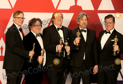 Jim Burke, Nick Vallelonga, Peter Farrelly, Brian Currie Photo - 24 February 2019 - Hollywood, California - Jim Burke, Charles B. Wessler, Nick Vallelonga, Peter Farrelly, Brian Currie. 91st Annual Academy Awards presented by the Academy of Motion Picture Arts and Sciences held at Hollywood & Highland Center. Photo Credit: Faye Sadou/AdMedia