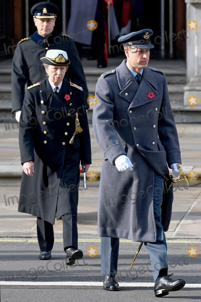 Prince, Prince Edward, Prince Edwards, Prince William, Princess Anne, The National, Remembrance Sunday Photo - 8th November 2020 - Roals during the National Service of Remembrance at The Cenotaph in London, England. Remembrance Sunday services are still able to go ahead despite the covid-19 measures in place across the various nations of the UK. Each country has issued guidelines to ensure the safety of those taking part. Photo Credit: ALPR/AdMedia
