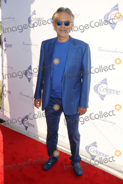 Andrea Bocelli Photo - 25 September 2015 - Los Angeles, California - Andrea Bocelli. Remembering Pavarotti Benefit Concert and Gala held at The Music Center. Photo Credit: Byron Purvis/AdMedia