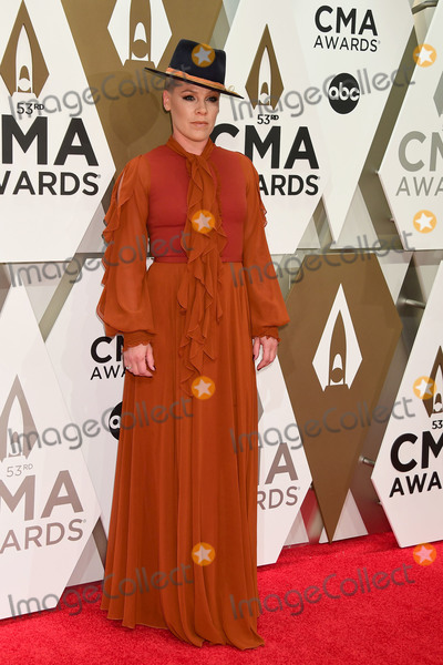 Pink, CMA Award Photo - 13 November 2019 - Nashville, Tennessee - P!nk. 53rd Annual CMA Awards, Country Music's Biggest Night, held at Music City Center. Photo Credit: Laura Farr/AdMedia13 November 2019 - Nashville, Tennessee - P!nk, Pink. 53rd Annual CMA Awards, Country Music's Biggest Night, held at Music City Center. Photo Credit: Laura Farr/AdMedia
