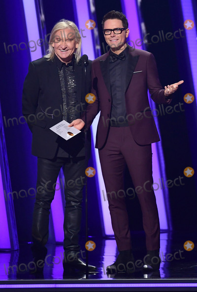 Joe Walsh, CMA Award, Bobby Bones, Joe Corré Photo - 13 November 2019 - Nashville, Tennessee - Joe Walsh, Bobby Bones. 51st Annual CMA Awards, Country Music's Biggest Night, held at Bridgestone Arena. Photo Credit: Laura Farr/AdMedia