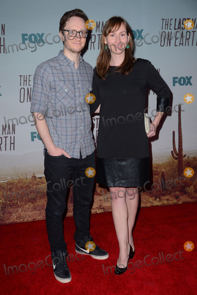 "Akiva Schaffer Photo - 24 February 2015 - Los Angeles, California - Akiva Schaffer. Arrivals for FOX's ""The Last Man on Earth"" series premiere screening held at Big Daddy's Antiques Shop. Photo Credit: Birdie Thompson/AdMedia"