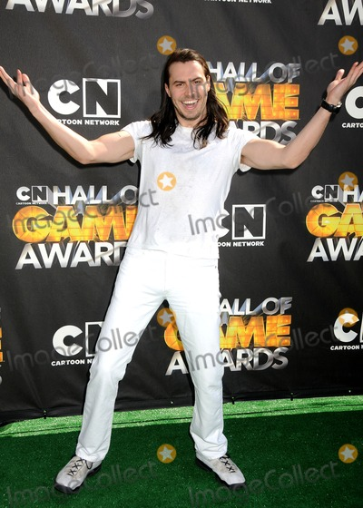 Andrew W.K., Andrew W. K., ANDREW WK Photo - 21 February 2011 - Santa Monica, California - Andrew W.K.. 1st Annual Cartoon Network Hall of Game Awards held at Barker Hangar. Photo: Byron Purvis/AdMedia