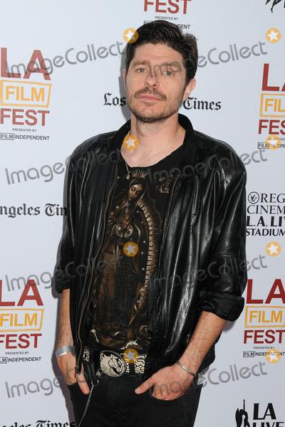 "Photo - 11 June 2014 - Los Angeles, California - Damian John Harper. 20th Annual Los Angeles Film Festival Opening Night Premiere of ""Snowpiercer"" held at Regal Cinemas L.A. Live. Photo Credit: Byron Purvis/AdMedia"
