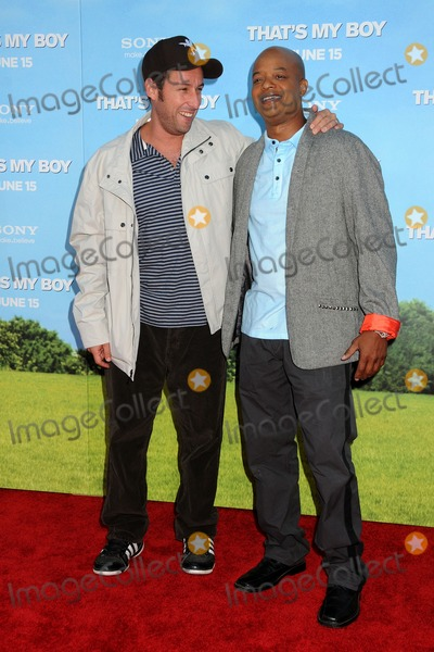 "Todd Bridges, Adam Sandler Photo - 4 June 2012 - Westwood, California - Adam Sandler, Todd Bridges. ""That's My Boy"" Los Angeles Premiere held at the Regency Village Theatre. Photo Credit: Byron Purvis/AdMedia"