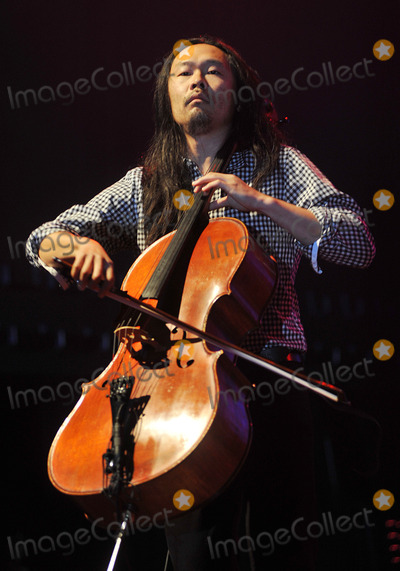 """Joe Kwon, Kwon, Avett Brothers, The Avett Brothers, Joe Corré Photo - 27 May 2011 - Pittsburgh, PA - Cello player JOE KWON of the band THE AVETT BROTHERS performs to a Sold Out crowd at a stop on their """"Summer Camp 2011 Tour"""" held at Stage AE.  Photo Credit: Jason L Nelson/AdMedia"""