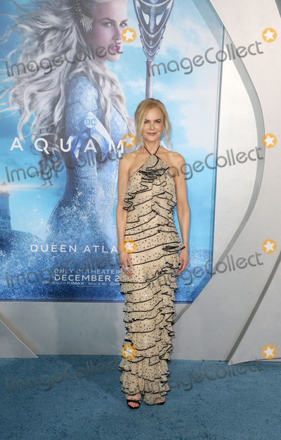 """Nicole Kidman, TCL Chinese Theatre Photo - 12 December 2018 - Hollywood, California - Nicole Kidman. Premiere Of Warner Bros. Pictures' """"Aquaman"""" held at The TCL Chinese Theatre. Photo Credit: Faye Sadou/AdMedia"""
