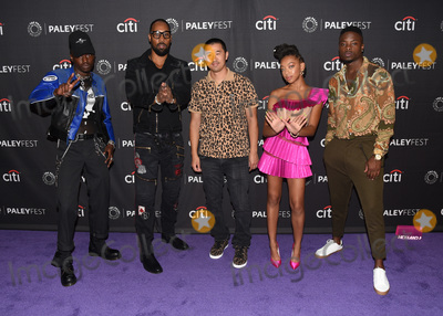 """Rza, Ashton Sanders, Johnell Young, Alex Tse, Zolee Griggs Photo - 10 September 2019 - Beverly Hills, California - Ashton Sanders, RZA, Alex Tse, Zolee Griggs, Johnell Young. """"Wu Tang: An American Saga"""" The Paley Center For Media's 13th Annual PaleyFest Fall TV Previews - Hulu. Photo Credit: Billy Bennight/AdMedia"""