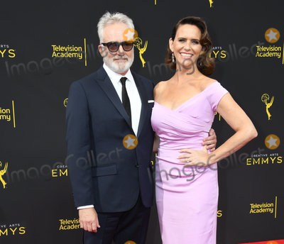Amy Landecker, Bradley Whitford Photo - 15 September 2019 - Los Angeles, California - Bradley Whitford, Amy Landecker. 2019 Creative Arts Emmys Awards - Arrivals held at Microsoft Theater L.A. Live. Photo Credit: Birdie Thompson/AdMedia